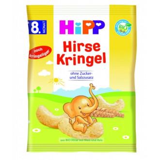 ХИП БИО Зърнени пръчици с просо 8м+ 30гр   HIPP BIO Cereal sticks with millet 8m+ 30g