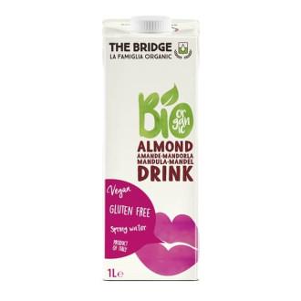 ДЪ БРИДЖ БИО Бадемова напитка (3%) БЕЗ ГЛУТЕН 1л | THE BRIDGE BIO Almond drink GLUTEN FREE 1l
