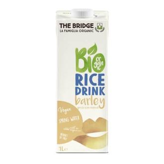 ДЪ БРИДЖ БИО Оризова напитка с Ечемик 1л | THE BRIDGE BIO Rice drink with Barley 1l