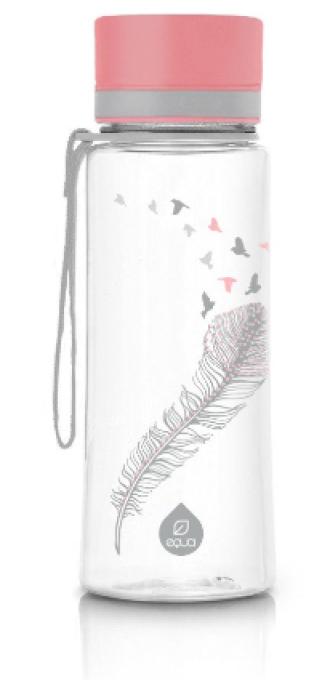 ЕКУА Бутилка без BPA ПТИЦИ 600мл | EQUA Eco bottle BPA free PLAIN BIRDS 600ml