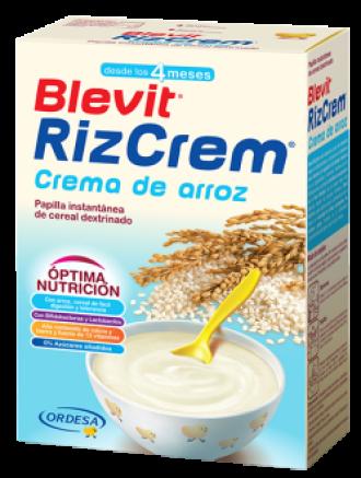 БЛЕВИТ ЛЕЧЕБНА ХРАНА Ризкрем с бифидус ефект 300гр | BLEVIT Crema de arroz Rizcrem 300g