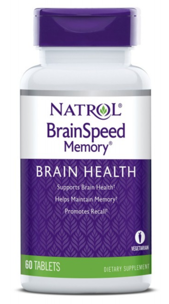 БРЕЙН СПИЙД МЕМОРИ 60 таб. НАТРОЛ | BRAINSPEED™ MEMORY 60 tab. NATROL