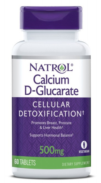 КАЛЦИЕВ Д-ГЛЮКОРАТ 60 таблетки НАТРОЛ | CALCIUM D-GLUCARATE 60 tabs NATROL
