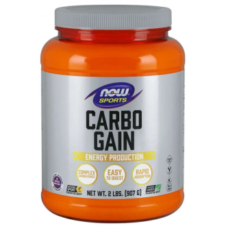 КАРБО ГЕЙН СЛОЖЕН ВЪГЛЕХИДРАТ прах 907г НАУ ФУУДС | CARBO GAIN COMPLEX CARBOHYDRATE pwd 907g NOW FOODS
