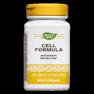Сел Формула антиоксидант протекшън 100 табл. НЕЙЧЪР'С УЕЙ | CELL FORMULA Antioxidant Protection tabl. 100s NATURE'S WAY