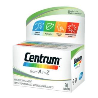 ЦЕНТРУМ А - З ПФАЙЗЕР х 60 таблетки | CENTRUM A - Z PFIZER x 60 tabs