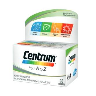 ЦЕНТРУМ А - З ПФАЙЗЕР х 30 таблетки | CENTRUM A - Z PFIZER x 30 tabs