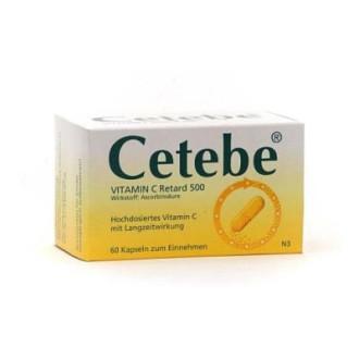 ЦЕТЕБЕ 500мг. капсули, твърди 60бр. | CETEBE 500mg capsules, hard 60s