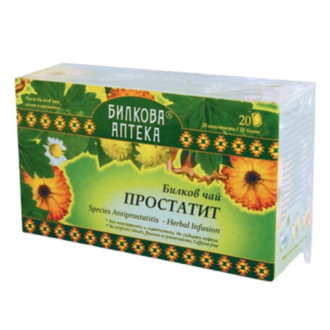 Билков чай Простатит 20бр филтърни пакетчета, 30гр БИЛКОВА АПТЕКА БИОХЕРБА | Herbal tea Prostatitis 20s teabags, 30g HERBAL PHARMACY BIOHERBA