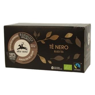 Черен чай Alce Nero 20бр филтърни пакетчета | Black tea Alce Nero 20s tisane