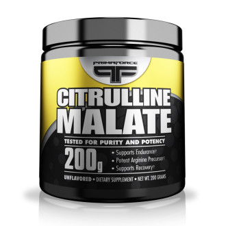 ЦИТРУЛИН МАЛАТ 200г прах ПРИМАФОРС | CITRULLINE MALATE 200g pwd PRIMAFORCE