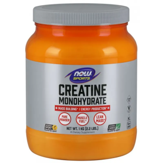 КРЕАТИН прах 1000г НАУ ФУУДС | CREATINE pwd 1000g NOW FOODS