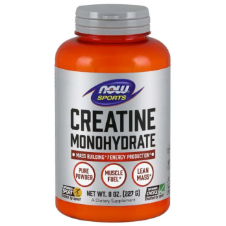 КРЕАТИН прах 227г НАУ ФУУДС | CREATINE pwd 227g NOW FOODS