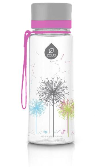 ЕКУА Бутилка без BPA ГЛУХАРЧЕ 600мл | EQUA Eco bottle BPA free DANDELION 600ml