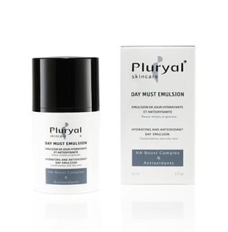 ПЛУРИАЛ Хидратираща и антиоксидантна дневна емулсия 50мл | PLURYAL Day must emulsion 50ml