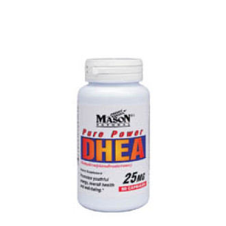 ДХЕА 25мг 60 капсули МЕЙСЪН НАТУРАЛ | DHEA 25mg 60 caps MASON NATURAL
