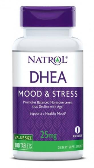 ДХЕА 25 мг. 180 таблетки НАТРОЛ   DHEA 25 mg 180 tabs NATROL