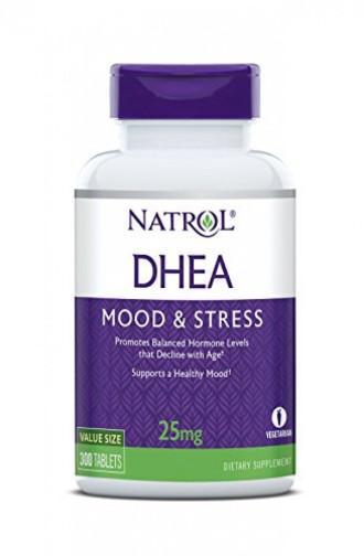 ДХЕА 25 мг. 300 таблетки НАТРОЛ   DHEA 25 mg 300 tabs NATROL
