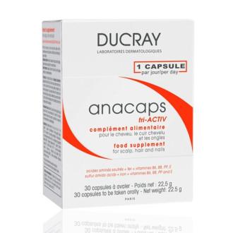 ДЮКРЕ АНАКАПС Триактив 30 капсули | DUCRAY ANACAPS Triactiv 30 caps
