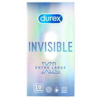 ДЮРЕКС ИНВИЗИБЪЛ Ултра тънки презерватив XL 1бр | DUREX INVISIBLE Ultra thin XL condom 1s