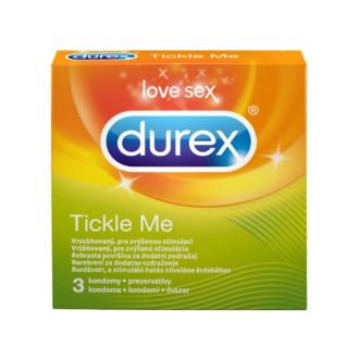 ДЮРЕКС ТИКЪЛ МИ презервативи 3бр., 12 бр. | DUREX TICKLE ME condoms 3s, 12s