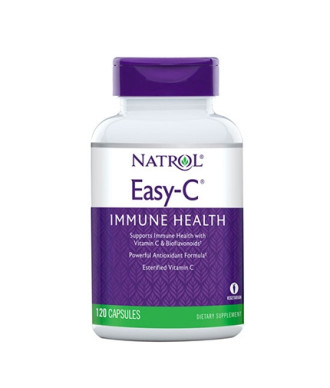 ИЙЗИ С С ЦИТРУСОВИ БИОФЛАВОНОИДИ 500 мг. 120 растителни капсули НАТРОЛ | EASY C CITRUS BIOFLAVONOIDS 500 mg 120 caps NATROL