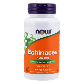 ЕХИНАЦЕЯ 400мг капсула 100 бр. НАУ ФУУДС | ECHINACEA 400mg caps 100s NOW FOODS