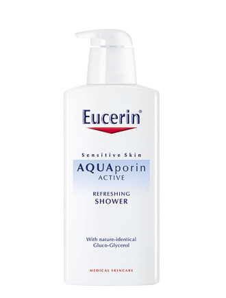 ЮСЕРИН АКВАПОРИН АКТИВ Душ гел за тяло 400мл | EUCERIN AQUAporin ACTIVE Body wash gel 400ml