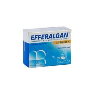 ЕФЕРАЛГАН ВИТАМИН С ефервесцентни таблетки 20бр. | EFFERALGAN VITAMIN C effervescent tablets 20s