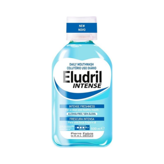 Вода за уста ЕЛУДРИЛ ИНТЕНС 500мл | Mouthwash ELUDRIL INTENSE 500ml