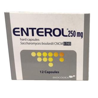 ЕНТЕРОЛ 250мг. капсули, твърди 12бр. | ENTEROL 250mg capsules, hard 12s