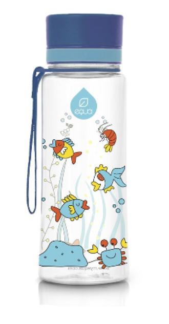 ЕКУА Бутилка без BPA АКВАРИУМ 600мл | EQUA Eco bottle BPA free EQUARIUM 600ml