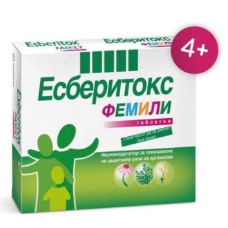 ЕСБЕРИТОКС ФЕМИЛИ 3,2мг. таблетки 60бр. | ESBERITOX FAMILY 3,2mg tablets 60s