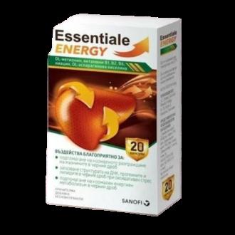 ЕСЕНЦИАЛЕ ЕНЕРДЖИ х 20 капсули | ESSENTIALE ENERGY x 20 capsules