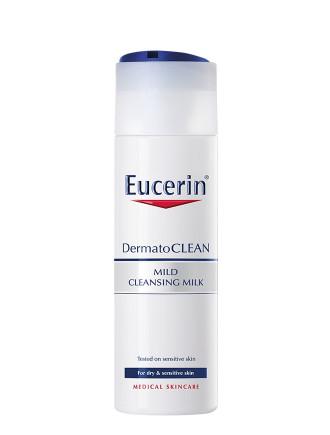 ЮСЕРИН DERMATO CLEAN Почистващо мляко 200мл | EUCERIN DERMATO CLEAN Cleansing milk 200ml