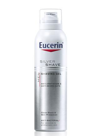 ЮСЕРИН МЕН МИКРО СИЛВЪР Гел за бръснене 150мл | EUCERIN MEN MICRO SILVER Shaving gel 150ml