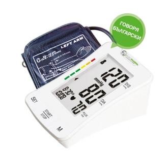 ЕВРОФАРМА Говорещ апарат за измерване на кръвно налягане и пулс BP-1307 | EUROPHARMA Talking blood pressure monitor BP-1307