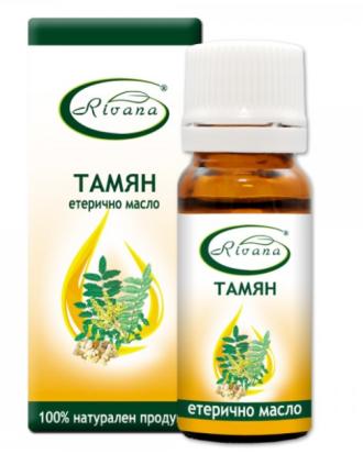 РИВАНА Етерично масло от ТАМЯН 10мл | RIVANA BOSWELLIA THURIFERA Essential oil 10ml