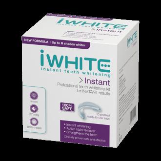 АЙ УАЙТ ИНСТАНТ Гел-шини за незабавно избелване за зъбите 10бр. | IWHITE INSTANT Professional teeth whitening kit 10s