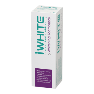 АЙ УАЙТ ИНСТАНТ Избелваща паста за зъби 75мл | IWHITE INSTANT Toothpaste teeth whitening 75ml