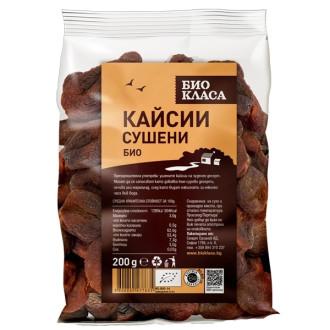 БИО Сушени кайсии 200гр БИО КЛАСА | BIO Dried apricots 200g BIO KLASA