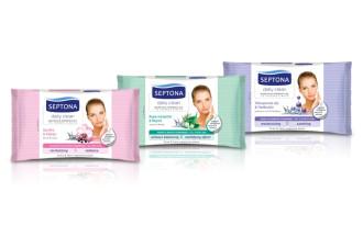 Мокри кърпи за дегримиране с Пантенол 20бр СЕПТОНА | Wet wipes Make-up removing with Pantenol 20s SEPTONA