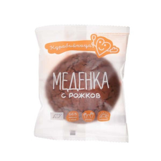 КУРАБИЙНИЦА БИО Меденка с Рожков 1бр 60гр. | KURABIINICA BIO Gingerbread with Carob 1s 60g