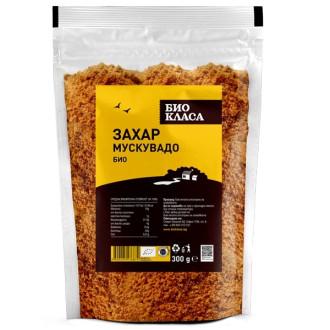 БИО Захар Мускувадо 300гр БИО КЛАСА | BIO Muscovado sugar 300g BIO KLASA
