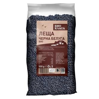 БИО Леща черна белуга 500гр БИО КЛАСА | BIO Black beluga lentil 500g BIO KLASA