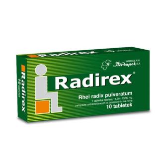 РАДИРЕКС таблетки х 10бр УНИФАРМА | RADIREX tabs x 10s UNIPHARMA