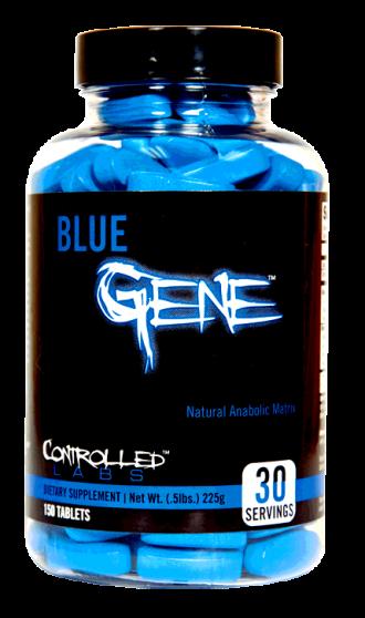 БЛУ ДЖИЙН капс. 150бр КОНТРОЛД ЛАБС | BLUE GENE caps 150s CONTROLLED LABS