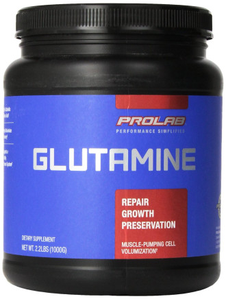 ГЛУТАМИН НА ПРАХ 1000мг ПРОЛАБ | GLUTAMINE POWDER 1000mg PROLAB