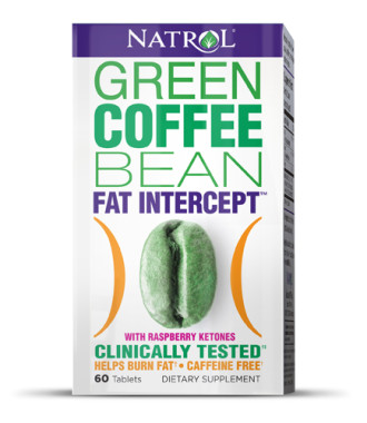 ЗЪРНА ЗЕЛЕНО КАФЕ + МАЛИНОВИ КЕТОНИ таблетки 60 бр. НАТРОЛ | GREEN COFFEE BEAN + RASPBERRY KETONE tabs 60s NATROL