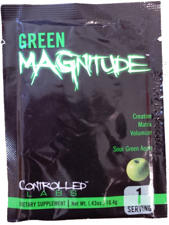 ГРИЙН МАГНИТЮД - еднократна доза КОНТРОЛД ЛАБС | GREEN MAGNITUDE - single dose CONTROLLED LABS